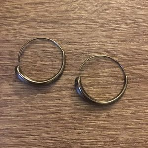 Jewelry - Pewter hoops